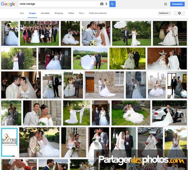 Mon mariage dans Google images : attention aux mauvaises surprises pour votre vie privée et celle de vos invités