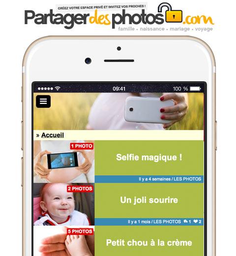 Echographie, grossesse, naissance de bébé et évolution : créez votre espace sécurisé 100% privé et partagez photos et vidéos avec ceux que vous aimez