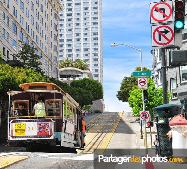 A San Francisco, ce sont de nombreux endroits et place à visiter