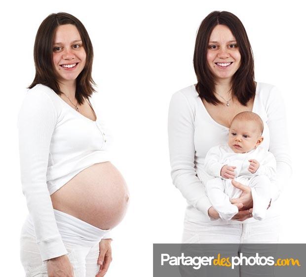 Partagez vos photos de grossesse, de naissance de votre bébé et son évolution avec ceux que vous aimez est facile et rapide