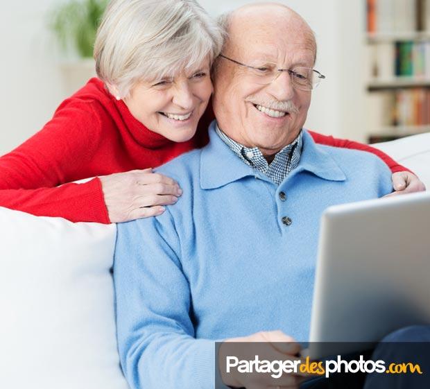 Idéal pour les grands-parents qui peuvent suivre votre expatriation au jour le jour