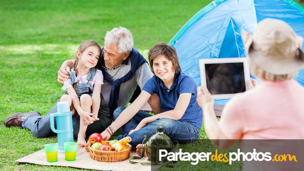 Partager des photos à distance entre amis ou avec sa famille