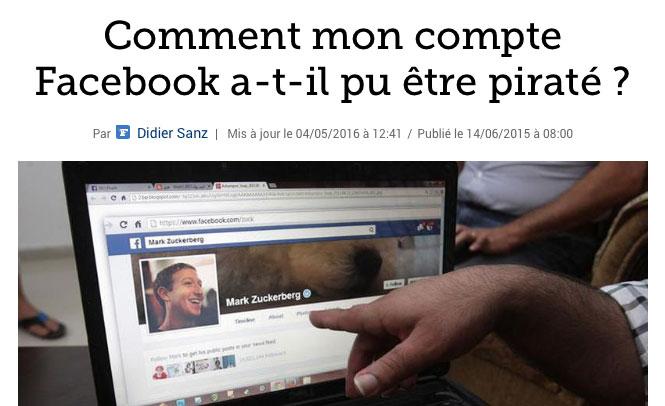 Commentaires malveillants, photos obscènes, achats d'applications suspects… Votre compte Facebook a été piraté et quelqu'un l'utilise sans votre permission. Comment cela est-il possible ?