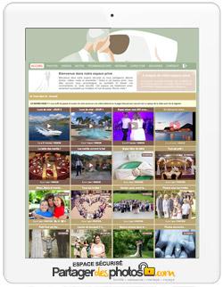 """Site de mariage """"notre mariage"""" privé"""