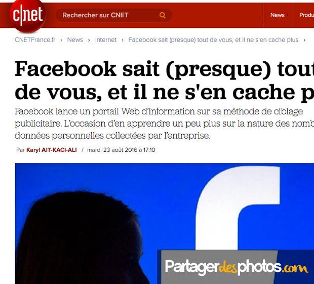 Facebook, Picasa, Dropbox, iCloud... tous ces grands sites américains sont régulièrement piratés et la plupart font l'objet de nombreuses débats concernant le respect de la vie privée des internautes qui les utilisent...