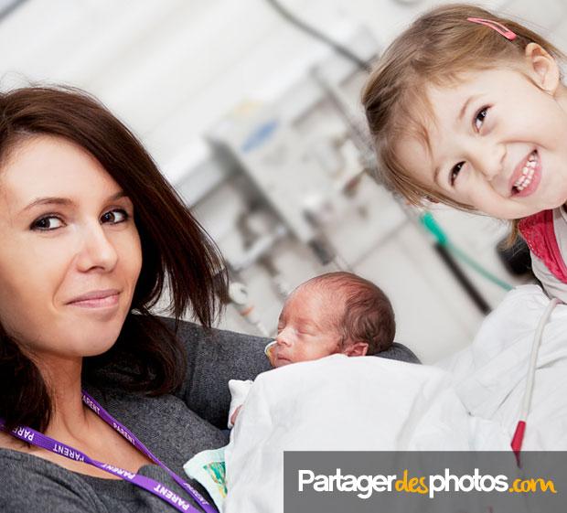 Photos de la maternité : créez votre espace photo privé est idéal pour partager en toute sécurité avec la famille et les proches
