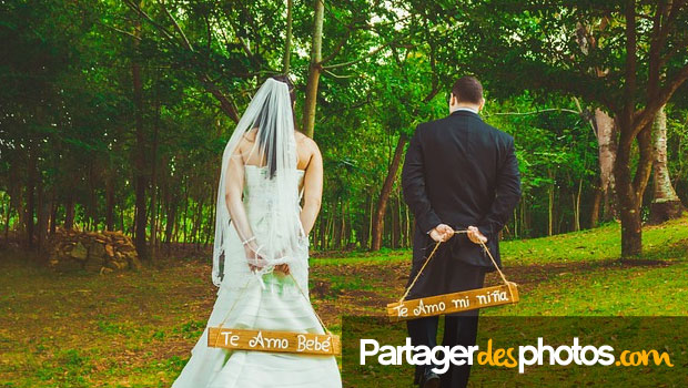Album photo mariage avec accès privé pour les invités