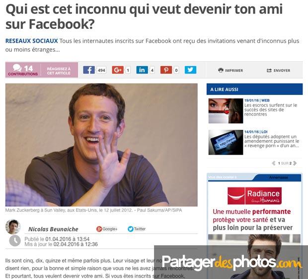 Piratages de comptes Facebook et conditions générales désastreuses pour votre vie privée : mieux vaut éviter d'utiliser les réseaux sociaux pour partager des photos privées...