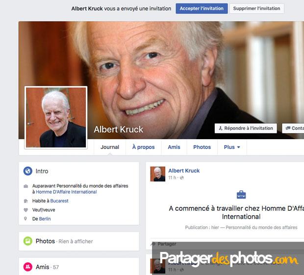 L'usurpation d'identité sur Facebook est un sport national....