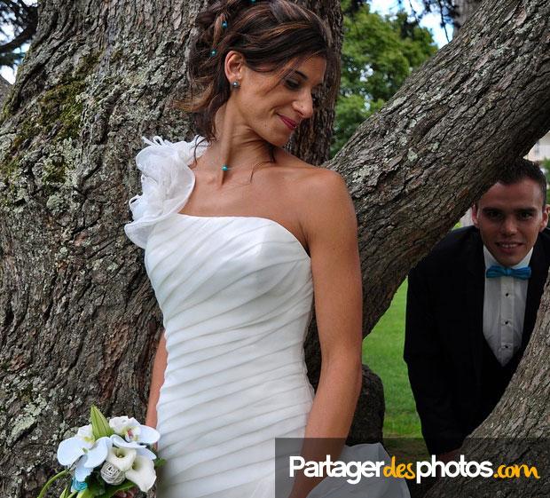 Création site de mariage : Un espace de partage photo privé comme celui que nous proposons ici permet de partager avec ses proches mais également de récupérer toutes les photos et vidéos faites par les invités pendant toute la journée de son mariage.