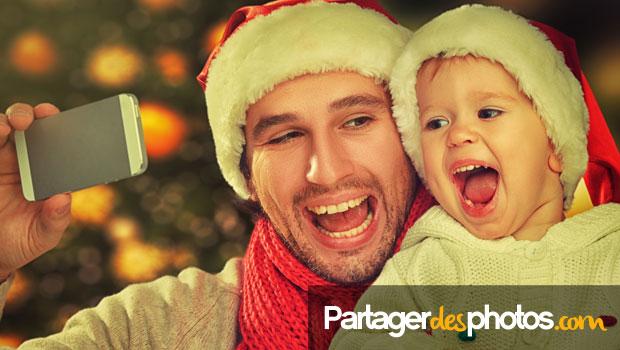 Créer et partager son album photo de Noël en ligne