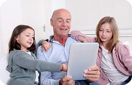 Créez votre réseau familial et partager en sécurité