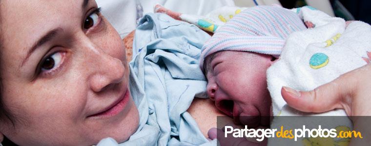Bébé est né ? Partagez vos photos de maternité avec la famille