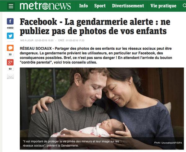 Publier des photos de sa famille et de ses enfants engendre des risques pour sa vie privée
