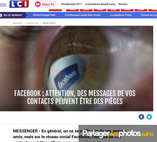 Sur Facebook, les piratages sont nombreux et les arnaques très fréquentes...
