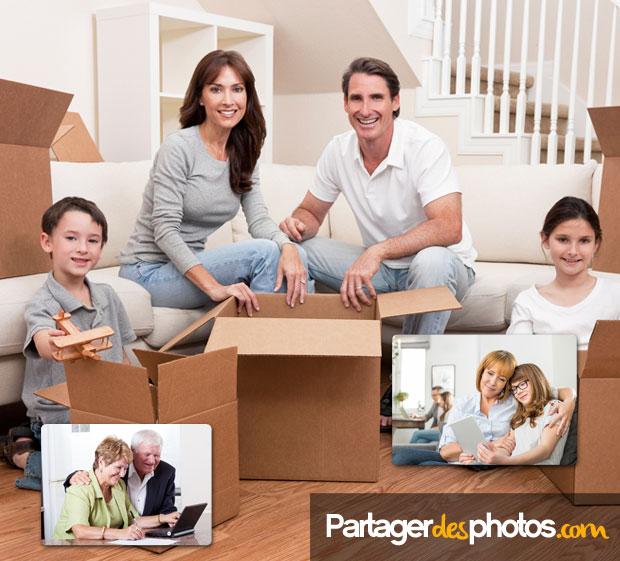 Cloud famille sécurisé : Pour partager à distance des photos de famille et des vidéos perso avec ses proches