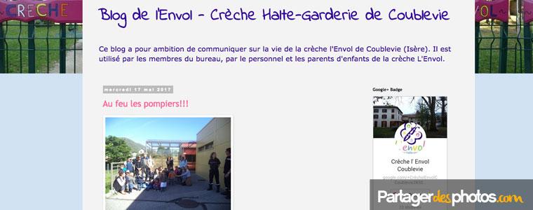 """En tapant """"blog de crèche"""" dans Google, on peut trouver de nombreux sites de crèches avec des photos des enfants dont l'établissement a la garde."""