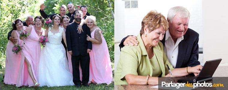 Partager ses photos de mariage de façon sécurisée n'a jamais été aussi simple