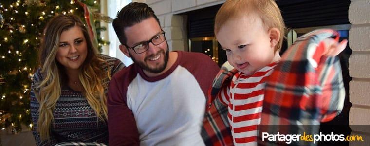 Photos et vidéos de Noël : créer son espace famille privé