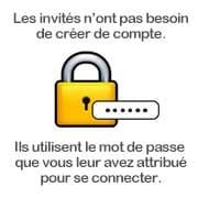 Les familles n'ont pas besoin de créer de compte pour accéder au blog ehpad sécurisé !