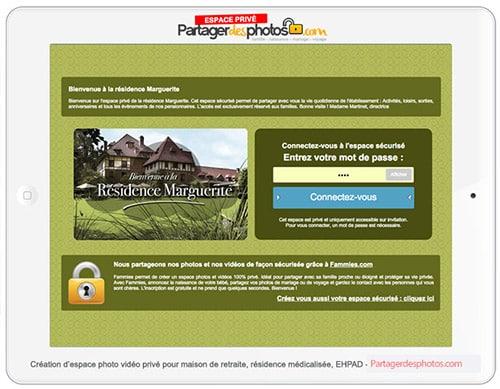 Création d'un blog pour ehpad avec accès sécurisé pour les familles des résidents