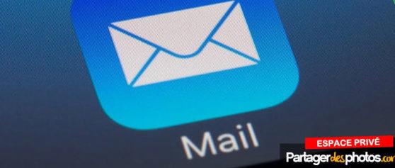 Comment envoyer un grand nombre de photos par mail ?