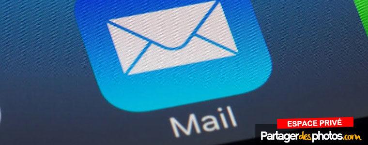 Envoyer plusieurs photos par email