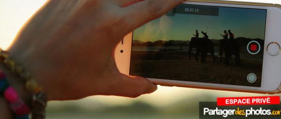 Petites et grosses vidéos : partagez vos vidéos en privé