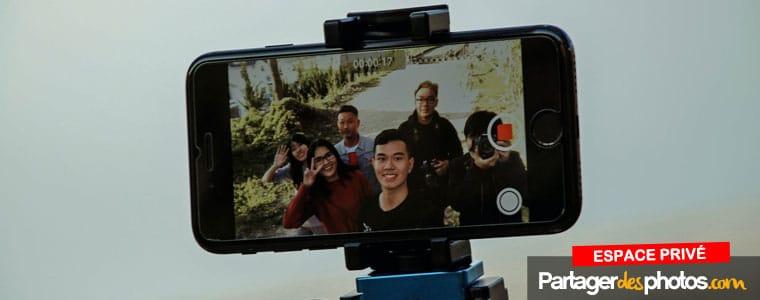 Comment partager des vidéos en ligne avec sa famille