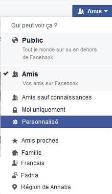 Comment bloquer le partage de photos sur Facebook