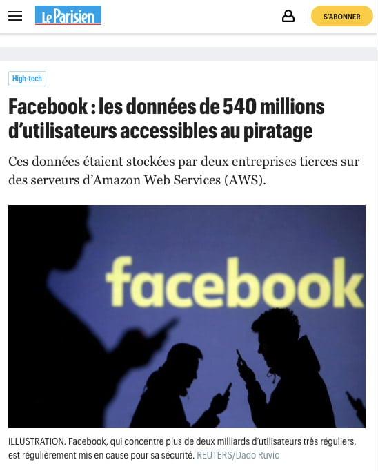 Partager un album photo sur Facebook engendre des risques d'ordre privé